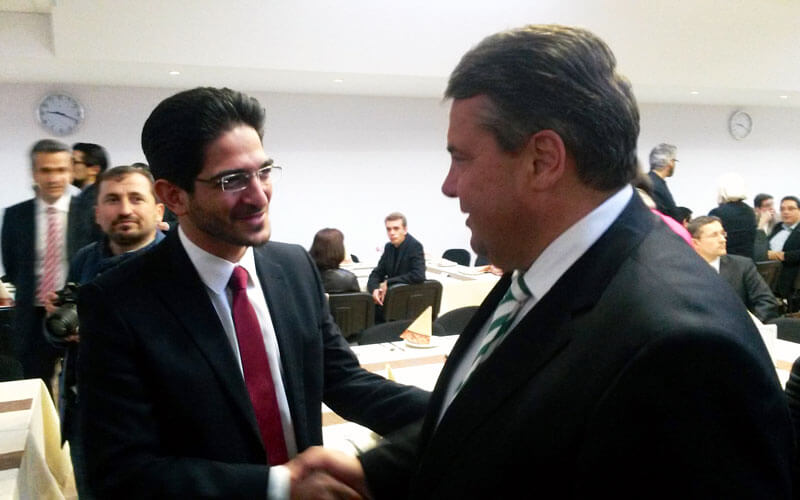 Iran Wirtschaft: Bundeswirtschaftsminister Sigmar Gabriel