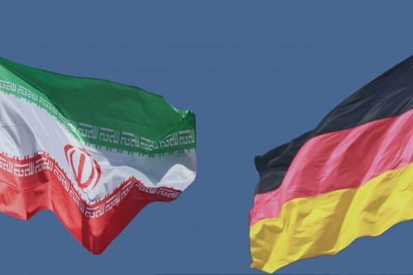 Iran Wirtschaft: iranische und deutsche Fahne