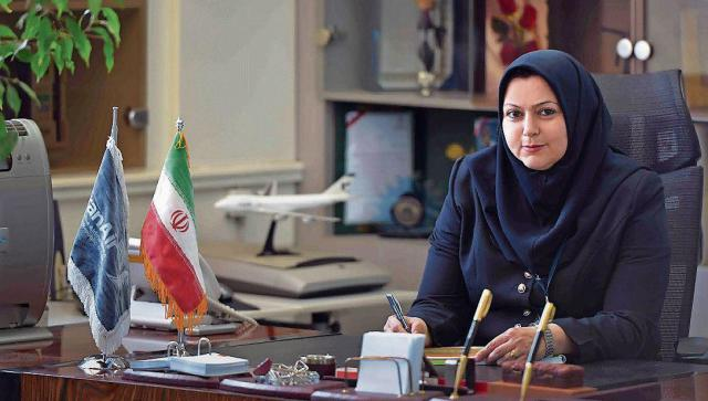 Iran Wirtschaft: Iran-Air Chefin Farsaneh Scharafbafi