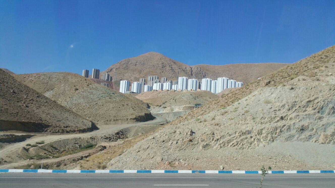 Neubauten in Iran