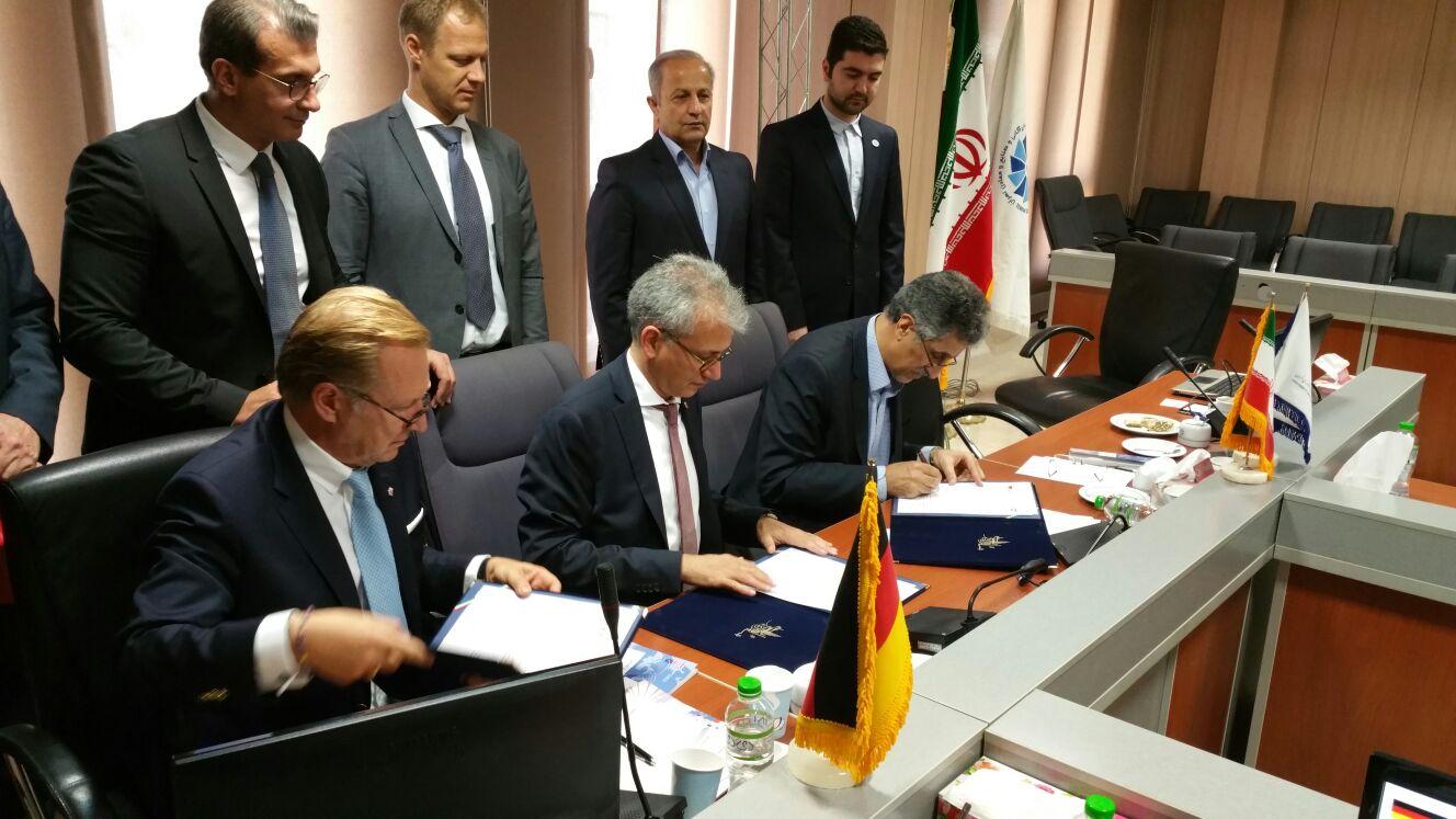 Tarek Al Wazir in Iran