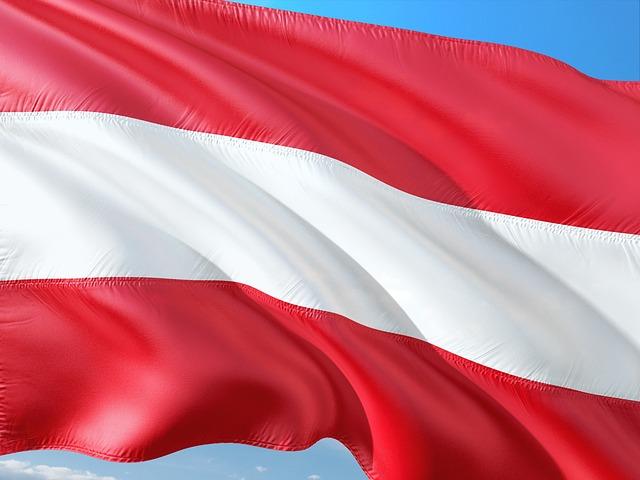 Iran Wirtschaft: Österreichische Flagge - Österreichische Bank investiert in Iran