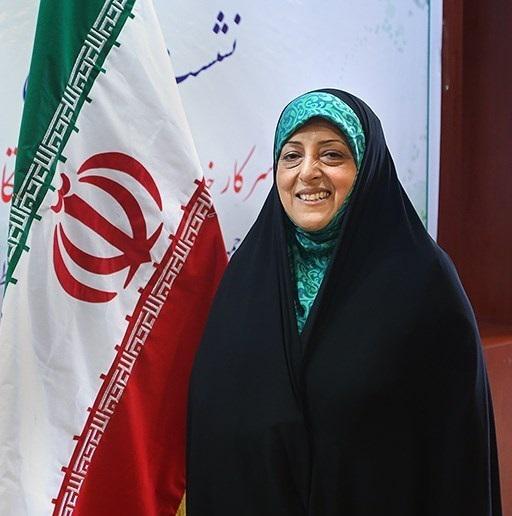 Masoumeh Ebtekar, Vizepräsidentin, zuständig für Wasserwirtschaft