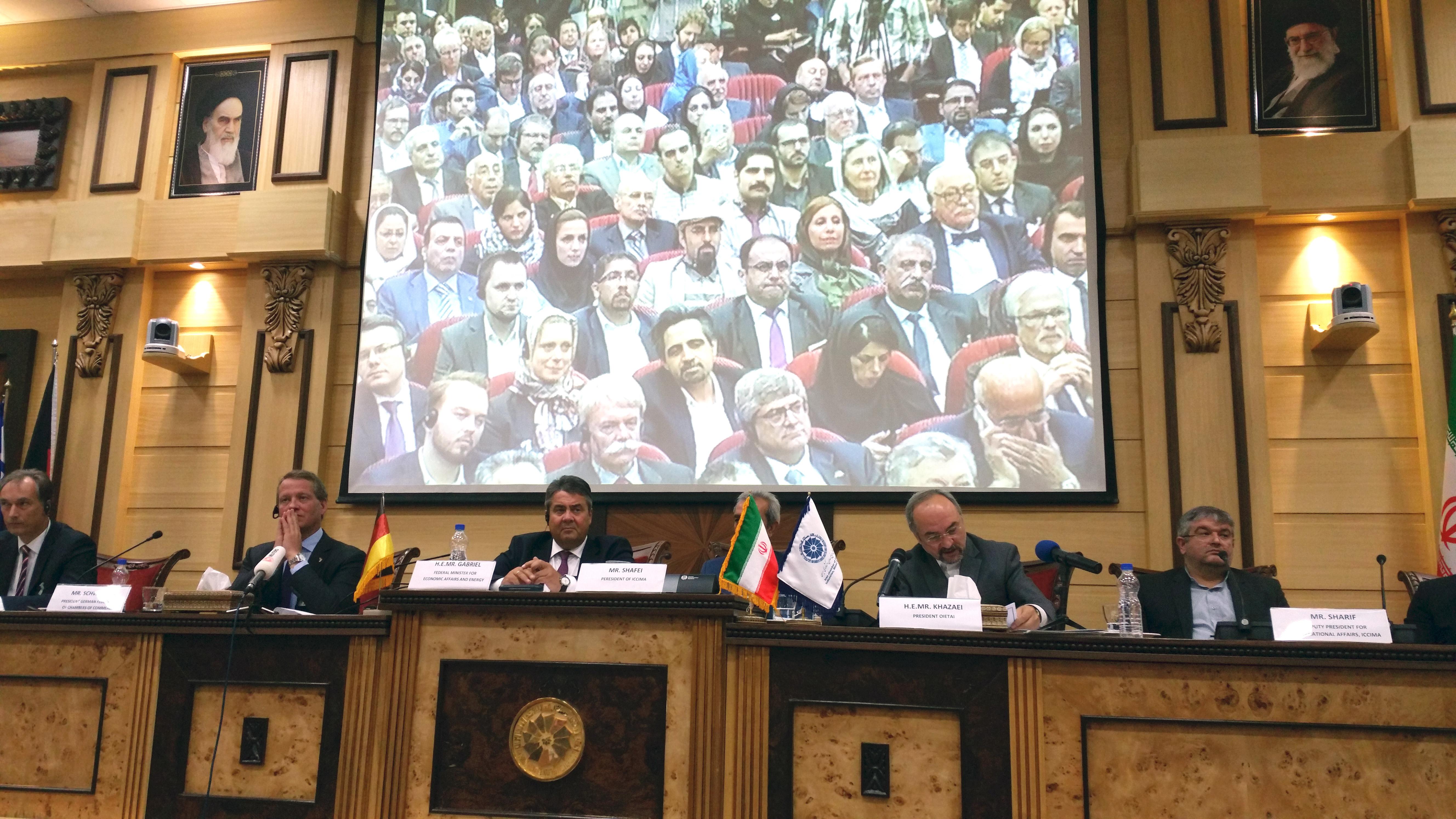 Deutsch-Iranisches Wirtschaftsforum in Teheran
