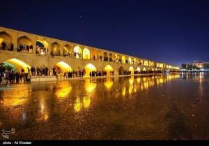 Wasserwirtschaft: Zayandeh Rud in Isfahan, Bild Tasnim news