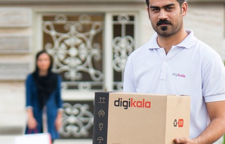 Shopping in Iran: Mitarbeiter von Digikala