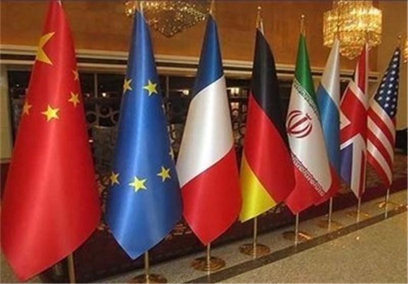 Iran Sanktionen: Fahnen 3+3
