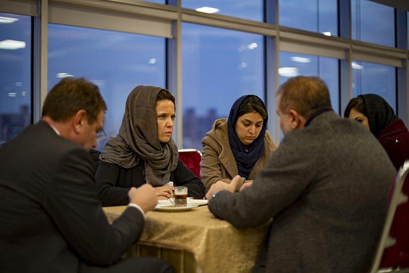 Reise nach Iran: B2B-Meeting in Alborz